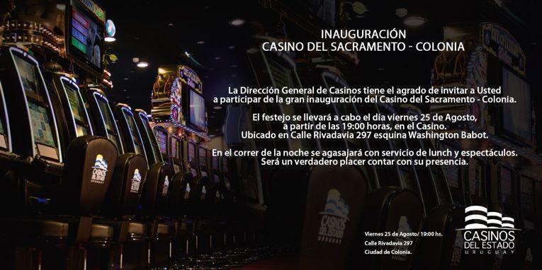 Inauguración Casino del Sacramento - Colonia